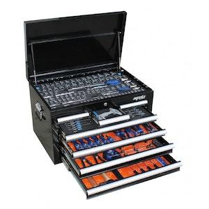 SP50123 Tool Kit 254 Piece Metric/SAE 7 Drawer Black SP50123