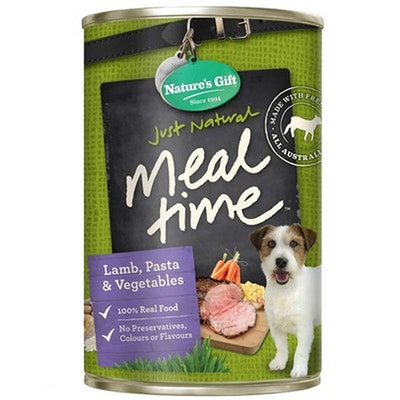 NATURES GIFT Lamb Pasta & Vegetables Dog Food 12 x 700g