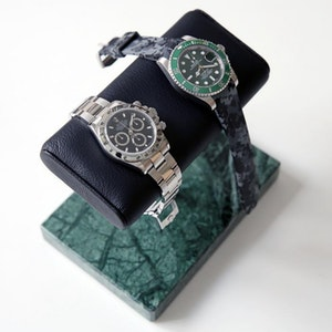 The Watch  Stand The Watch Stand Duo - Green & Black