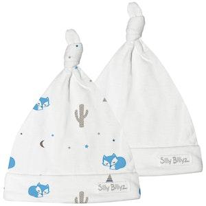 Silly Billyz Two Gumnut Desert Fox Baby Hats