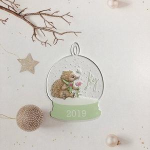 Christmas Bauble - Echidna Australian Christmas Ornament