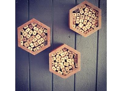 Hexagonal Bee Hotel