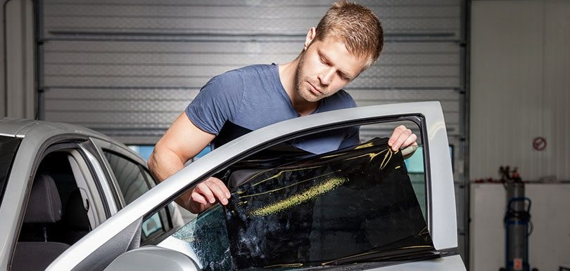 How To Professional Tint a Car Door Window
