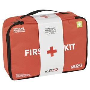Mediq Essential Workplace Response First-Aid Kit - Soft Pack (Low Risk)