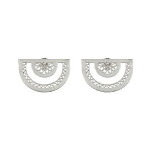 Neo Semi Circle Studs Earrings