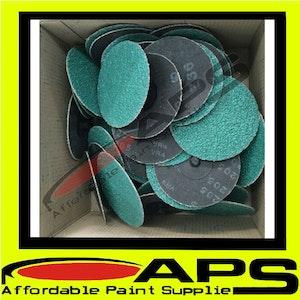 """50mm (2"""") Roloc Quick Change Sanding Discs - Packs of 50"""