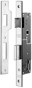 BDS Protector 726-25 euro style mortice lock in SSS finish