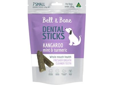 Bell and Bone Kangaroo, Mint and Turmeric Dental Sticks