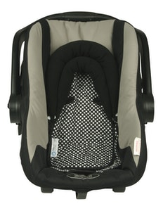 Keep Me Cosy™ Baby Head Support for Car Seat, Pram or Strollers (Twin Pack) - Classic Ink Spot