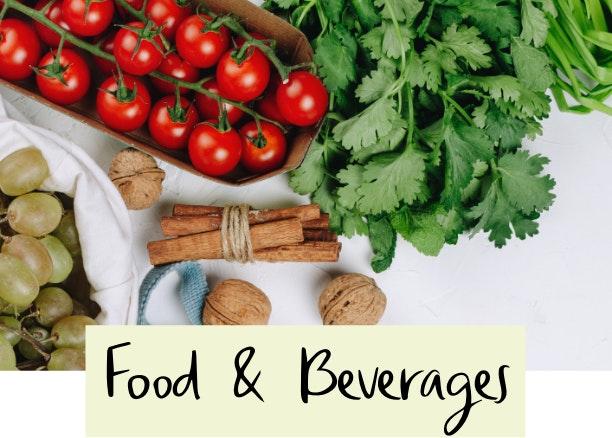 Fresh food and veggies