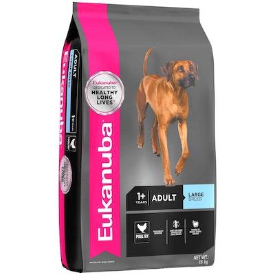 Eukanuba Large Breed Adult Chicken Dry Dog Food 15kg