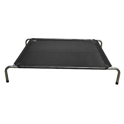 Zeez Platinum Elevated Portable Pet Bed Black - 3 Sizes