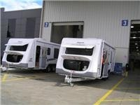 GoSee Jayco Sterlings 21ft (l) and 23ft (r)