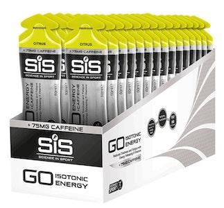 SiS GO Plus Caffeine Gels 60Ml 30 Pack Citrus