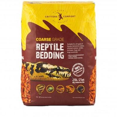 CRITTERS COMFORT Reptile Bedding Coarse 20L
