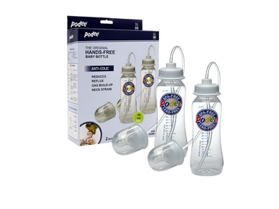Podee® Hands Free Baby Bottle (Twin/260ml) Classic