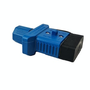Trailer Vision 50 amp Anderson Plug Cover with Dust Cap Blue