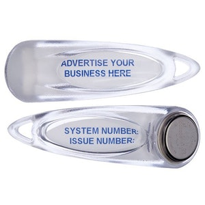 CS Technologies Silkey / iButton Plastic Fob - Min Qty = 10