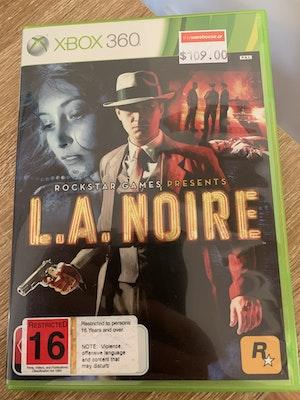 LA Noire game for Xbox 360 (L.A / Rockstar Games)