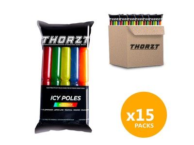 WH Safe *Wholesale* Thorzt Icy Pole Mixed Pack - 1 Box (15 packs)