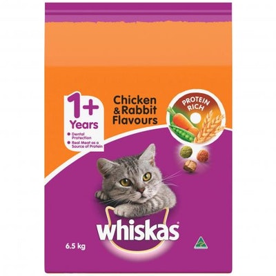 Whiskas Chicken and Rabbit - 6.5kg