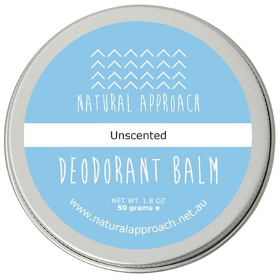 Natural Approach 50g - Unscented - Natural Deodorant