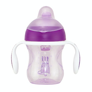 Chicco Training Cup With Handles 6M+ Girl 1pk 200ml