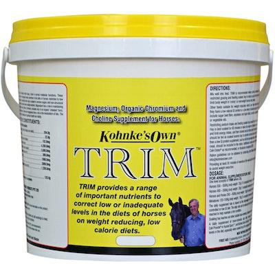 Kohnkes Own Trim Horse Health Supplement Magnesium Chromium Choline - 2 Sizes