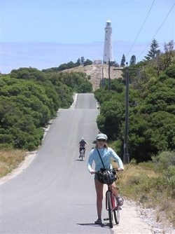 Easy rider Rottnest Is WA