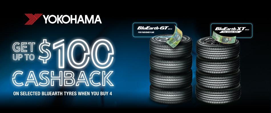 Yokohama Cash Back Promotion  Bob Jane T-Marts