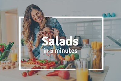 How to create a super healthy salad in just 5 minutes