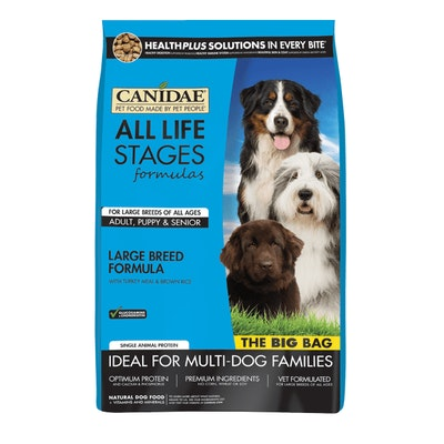 Canidae All Life Stages Large Breed Turkey Dry Dog Food