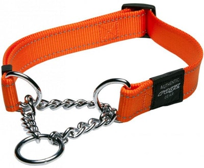 Rogz Utility Collar Obed Orange