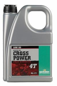 Motorex Cross Power 4T 10W50 Fully Synthetic Motor Oil - 4 Litre