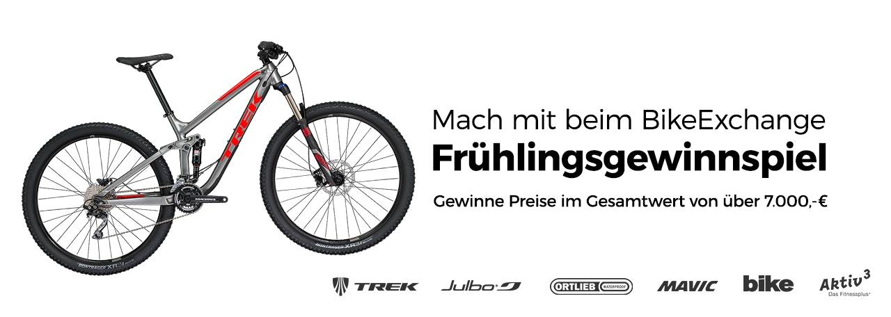 BikeExchange Frühlingsgewinnspiel