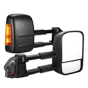 SAN HIMA SAN HIMA Pair Towing Mirrors for Land Rover Discovery 4 2009-2016