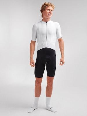Black Sheep Cycling Men's Essentials TEAM Jersey - Block White