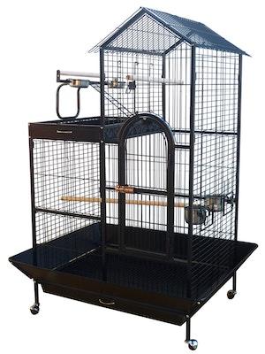 Bono Fido Parrot Cage 47903 Playpen Black
