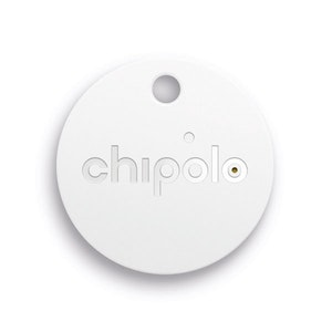 Chipolo Classic Bluetooth Tracker - Key & Mobile Phone Finder in White