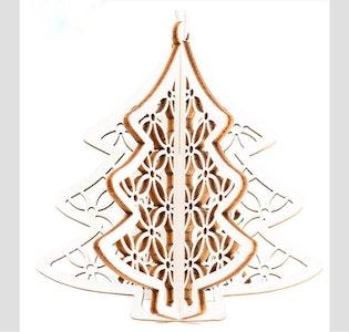 3D Christmas Tree Hanging Decoration