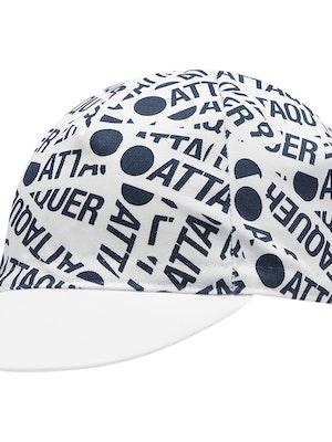 Attaquer F*ck Yeah Sticker Cap White/Navy