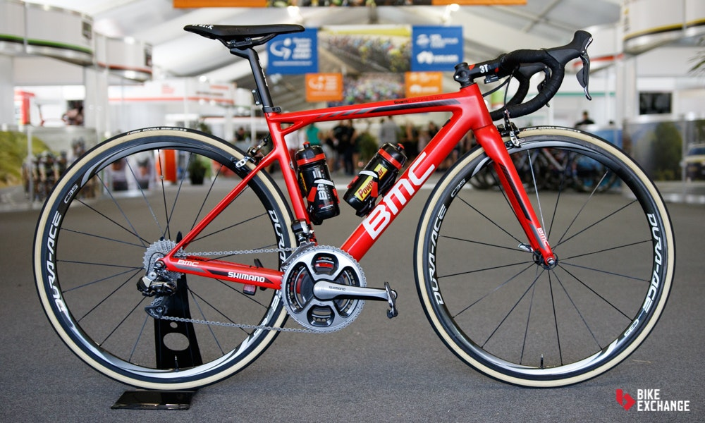 bikes of the 2017 worldtour BMC teammachine slr 01