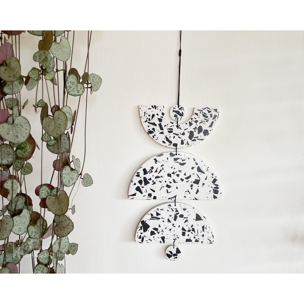 """The Chemists Daughter Arc Wall Hanging - """"aceso"""""""