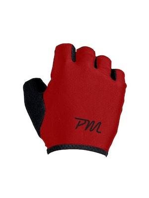 Pedal Mafia PM Short Finger Glove - Red