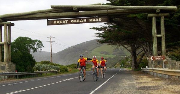 The famous AllTrails Great Ocean Rode Luxury Bike Tour departs next month.