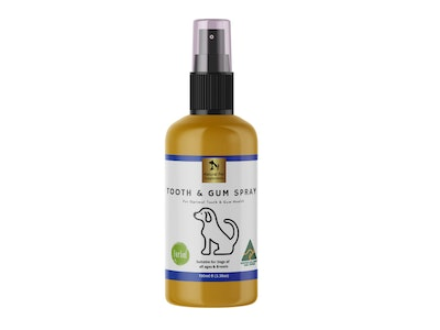 Natural Pet Supplements Tooth and Gum Spray for Dogs 100ml