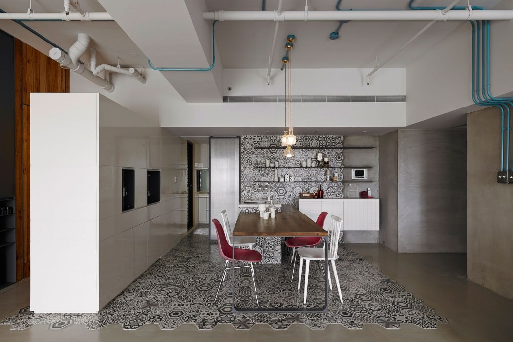Industrial Modern Kitchen Style