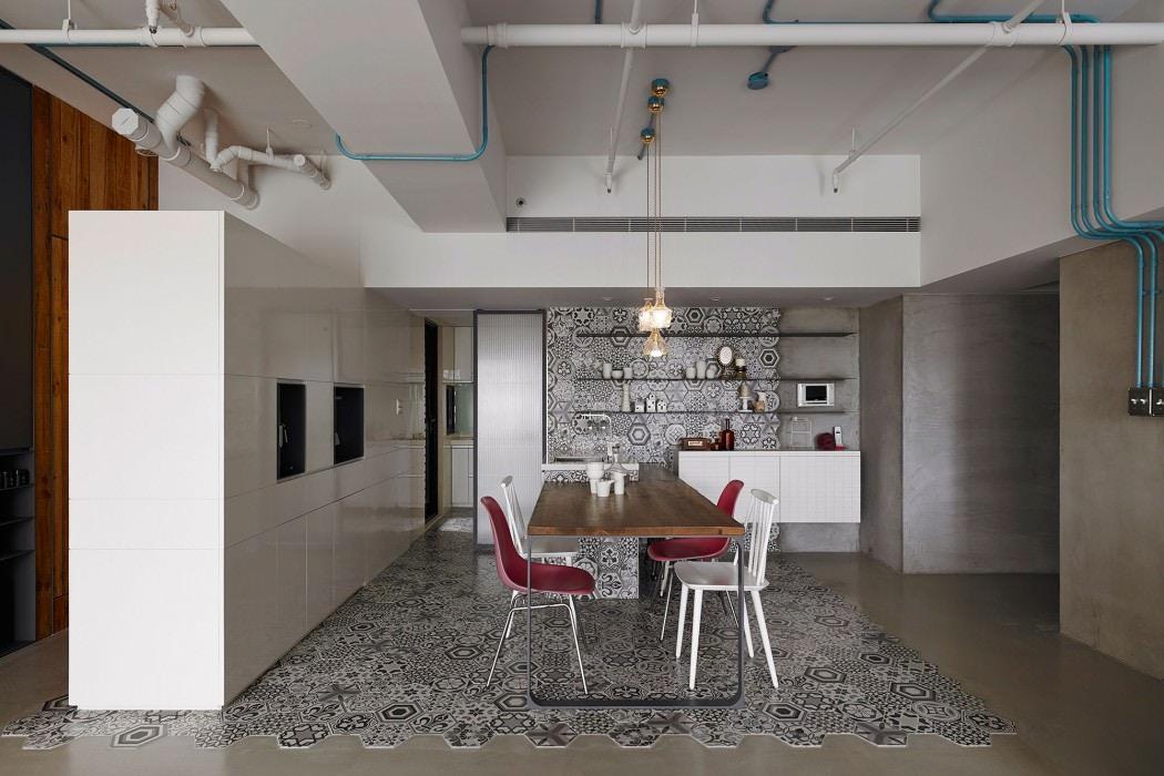 Industrial Modern Kitchen Style