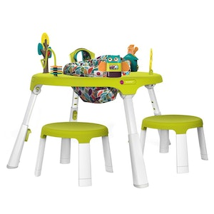 Oribel PortaPlay Forest Friends Activity Center + Stools Combo