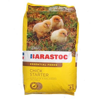 Barastoc Chick Chicken Starter Food 0-8 Weeks Starter Feeds 20kg